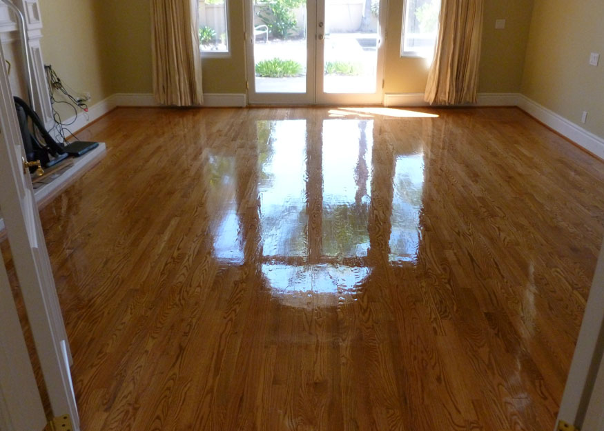Micah kim hardwood flooring for Before and after flooring